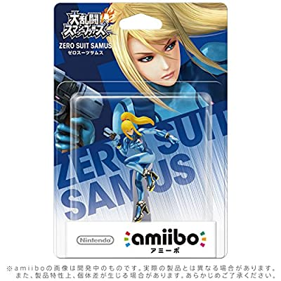 amiibo ゼロスーツサムス(大乱闘スマッシュブラザーズシリーズ)