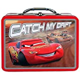 Disney Pixar Cars Lightning Mcqueen Tin Lunch Box (Black)