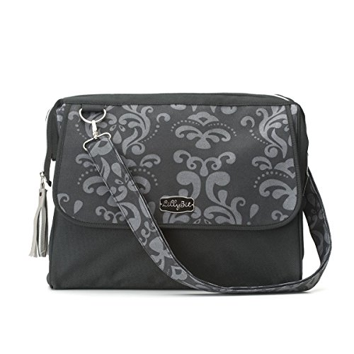 DEMDACO Lillybit Diaper Bag, Damask