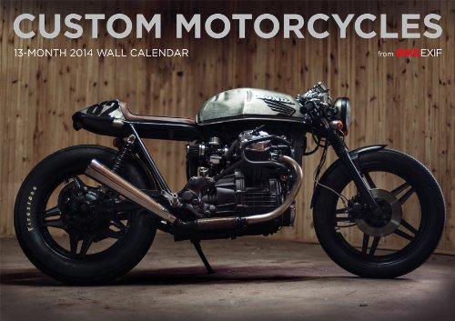 BIKEEXIF Custom Motorcycles Calendar