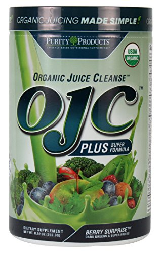 Purity Products - Certified Organic Juice Cleanse (OJC) Plus - Berry Greens (Organic Juice Cleanse compare prices)