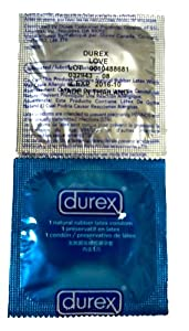 500 Durex Maximum Love Condoms NEW! Larger and Thinner Condom for more Sensitivity and Sensation