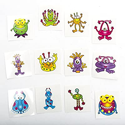 Monster Tattoos by Century Novelty