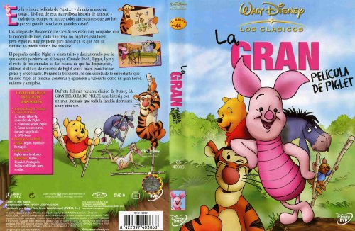 La gran película de Piglet [DVD]