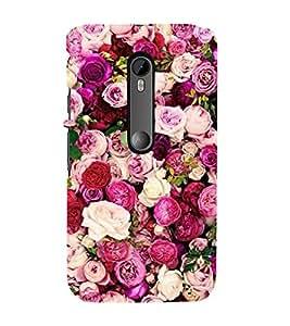 Roses 3D Hard Polycarbonate Designer Back Case Cover for Motorola Moto G3 :: Motorola Moto G (3rd Gen) :: Motorola Moto G (Gen 3) :: Motorola Moto G Dual SIM (3rd Gen) :: Motorola Moto G3 Dual SIM