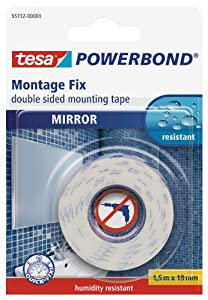 Amazon Com Tesa Mirror Double Sided Mounting Tape 19 Mm