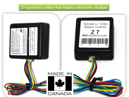 JVC Navigation DVD Video Automatic Bypass Lockout for KW-NT50HDT KW-NT30HD KW-NT3HDT NT1