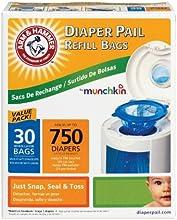 Munchkin Arm & Hammer Diaper Pail Refill Bags