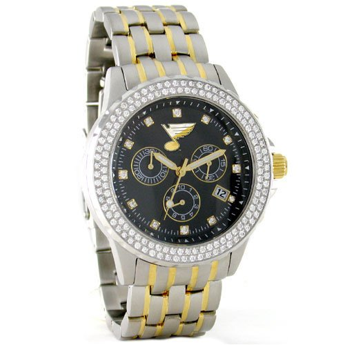 St. Louis Blues NHL Men's Legend Diamond Bezel Series Watch