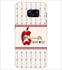 PrintDhaba Quote D-6061 Back Case Cover for SAMSUNG GALAXY S7 (Multi-Coloured)