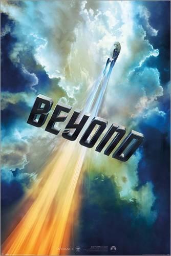 Poster Star Trek Beyond - Clouds - manifesto risparmio, cartellone XXL
