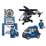 Best Lock 142 Piece Police Crew Block Set, Multi Color