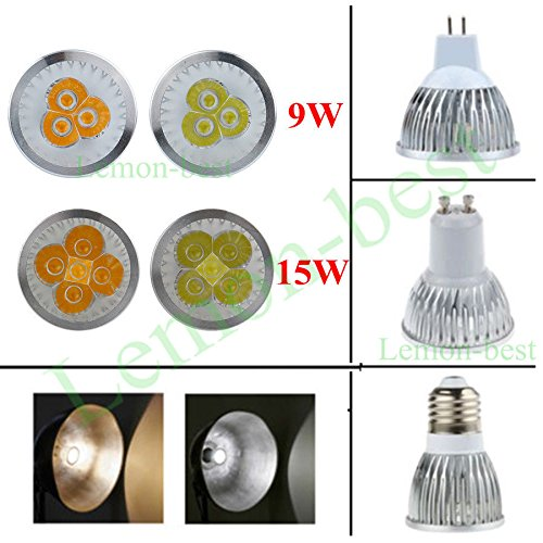 Super Bargain!!! New Model!! Bright Energy Saving Dimmable 9W 15W E27/Mr16/Gu10 Cree Led Spotlight Lamp Bulb In Home