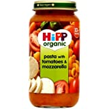 HiPP Organic Stage 3 from 10 months Growing up Meal Pasta with Tomatoes and Mozzarella 250g (pack of 6)