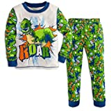 Disney-Pixar Toy Story Boy's Rex 2 Piece Pants Pajama Set