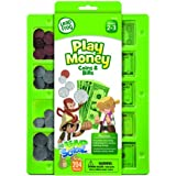 Leap Frog Leap School Play Money Coins And Bills Tray, 204 Pieces, Assorted Colors (19472)