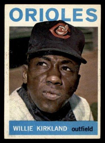 1964 Topps Willie Kirkland Indians (Baseball Card) # 17 Dean'S Cards 5 - Ex