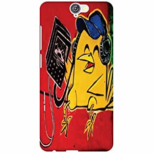 Back Cover For HTCOne A9 (Printed Designer)
