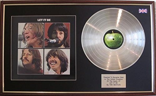 The BeatlesPlatinum Scheibe &CoverLet It Be Picture