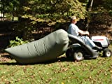 Lawn Tractor Leaf Bag- Pick up Leaves with Your Tractor, Not Your Back.