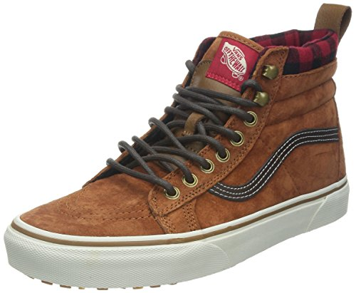 vans-u-sk8-hi-mte-zapatillas-altas-unisex-color-marron-glazed-ginger-talla-40
