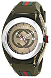 Gucci SYNC XXL YA137106 Khaki Green Swiss Quartz Watch