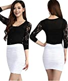 Eiza タイトスカートショート丈 丈40cm ホワイト