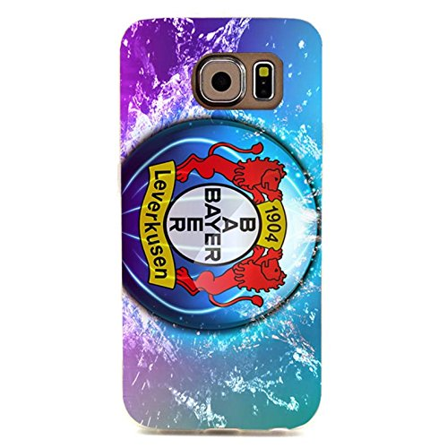 Bayer 04 Leverkusen Fu?ball GmbH Phone Case Fantasy Coloured 3D Phone Shell snap on Samsung Galaxy S6 Edgewith Team Logo