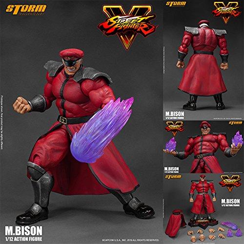 Street Fighter V M. Bison 1:12 Action Figure