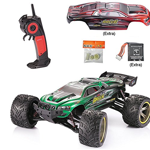GPTOYS RC Car Upgraded Version S912 RC Truck 33+MPH High Speed 1/12 Scale Full Proportional Monster Truggy (Dodge Ram Model Kit compare prices)