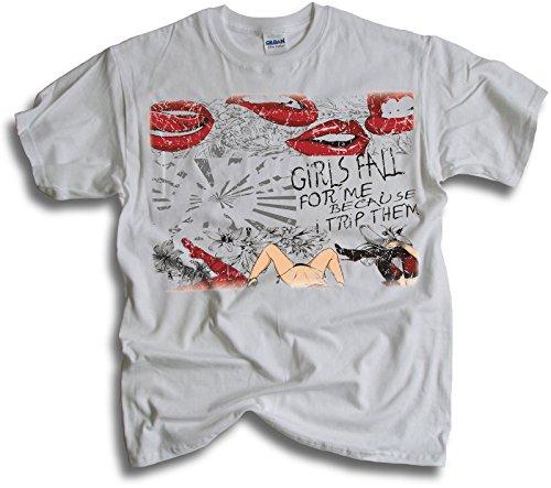 WearAloud-Camiseta-para-hombre-Blanco-blanco-L