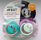Philips Avent Fashion Soother Twin Pack 6-18m (Birds)