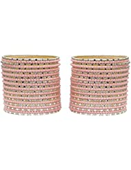Beautiful Charming 50 Bangles Set For Girls & Women Partywear Jewelry