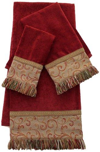 Swirl Paisley 3-Piece Decorative Towel Set