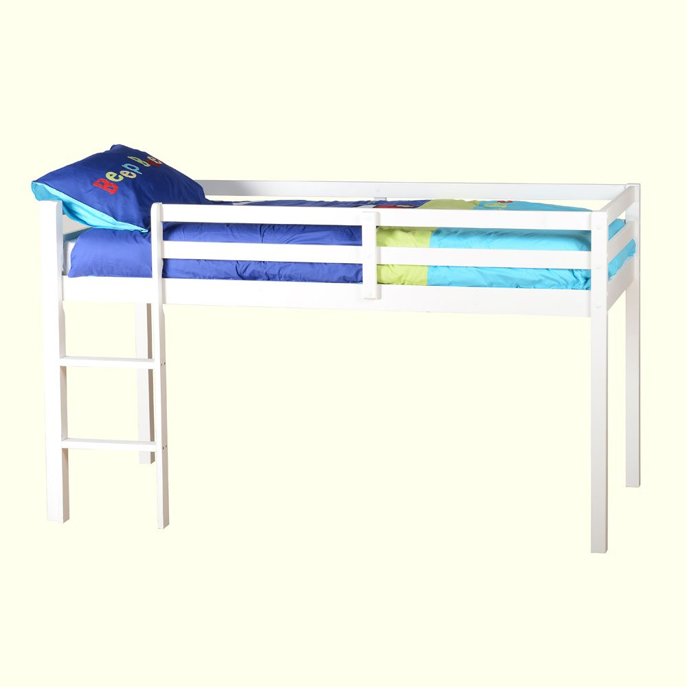 Bolero 3&' Single Bunk Bed White       review and more information