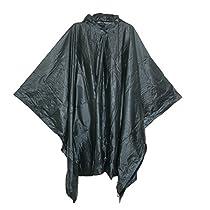 Rainkist Adult Poncho-Unisex One Size, Black, One Size