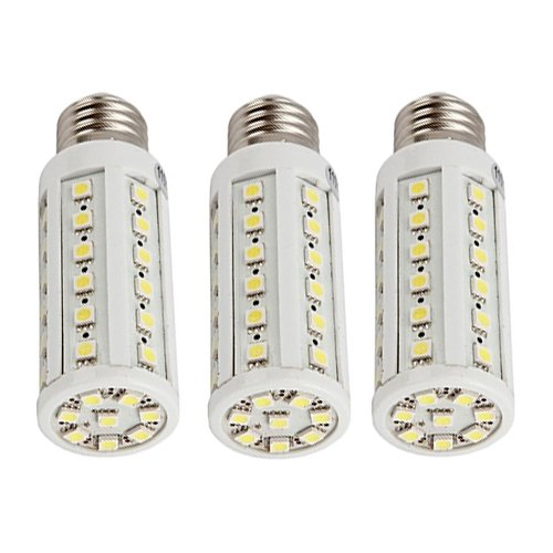 How Nice 9W Corn Light Bulb Lamp E27 44 Led 3000K Warm White 110V -Pack Of 3