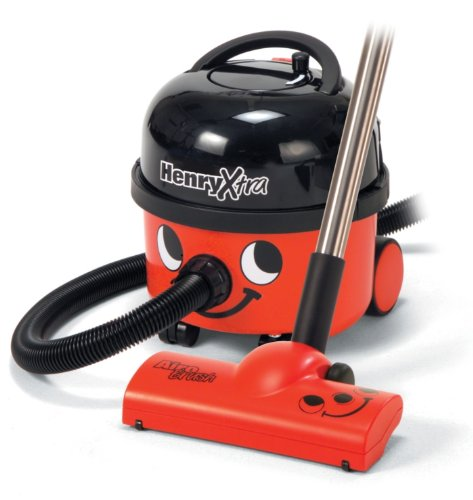 Henry Extra Vacuum Cleaner 240v Red