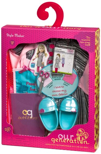 "Our Generation Style Maker Dressmaker Outfit For 18"" Dolls front-960660"