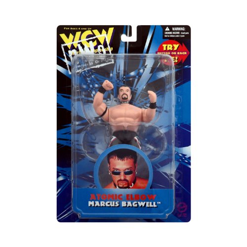 """Marcus Bagwell """"Atomic Elbow"""" WCW NWO Figure"""
