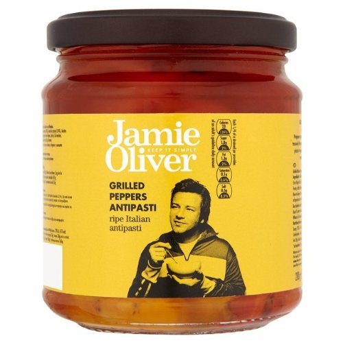 Jamie Oliver gegrillte Paprika Antipasti 280g