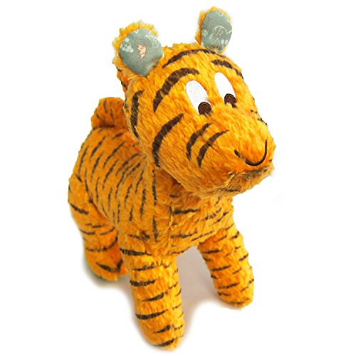 Japan Disney Official Winnie the Pooh - Tigger Cute Orange Tiger Medium Size Character Mascot Soft Plush Stuffed Toy Cushion Kids Doll Plushie House Room Table Decor Accessory Black Stripes