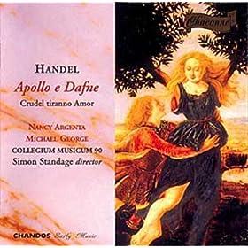 """Apollon et Daphn�: II. Air """"Pende il ben dell' universo"""""""