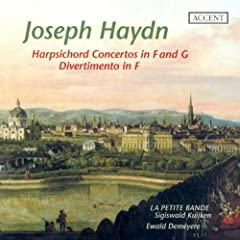 Haydn, J.: Keyboard Concerto in G Major / Divertimento in F Major / Harpsichord Concerto in F Major