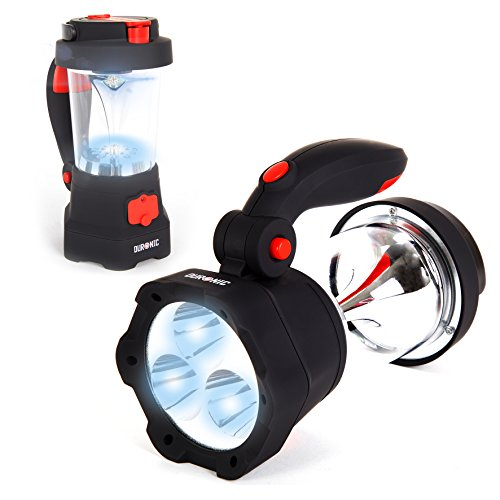 Duronic-Hurricane-4-in-1-Rechargeable-Wind-Up-Dynamo-Flashing-Red-LED-10-LED-Lantern-3-LED-Torch-USB-Charging-Function-2-Year-Warranty