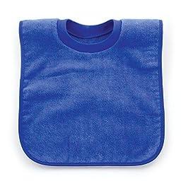 Bumkins Absorbent Cotton Pullover Bib, Blue