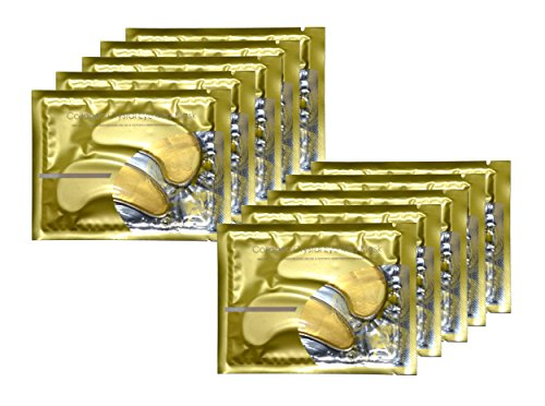 Smyrna® Anti-Aging, Anti Wrinkle 24k Gold Collagen Eye Pads