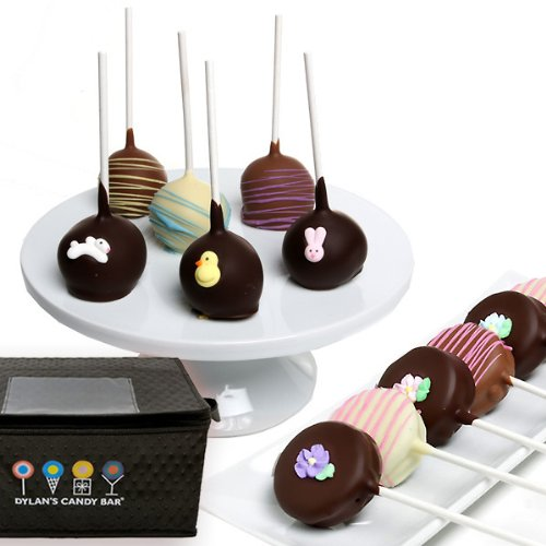 Dylan's Candy Bar Belgian Chocolate-Covered Easter Cake Pops and Oreo Cookie Pops