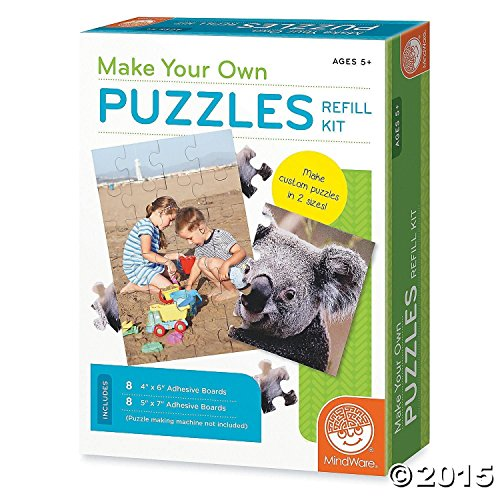 Make Your Own Puzzles Refill Game - 1
