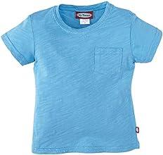 City Threads Little Girls39 Soft Cotton Slub Pocket Tee ToddlerKid - Sea
